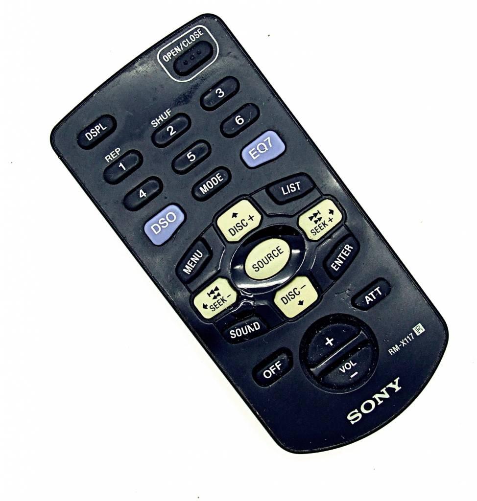 Sony Original Sony Fernbedienung RM-X117 remote control
