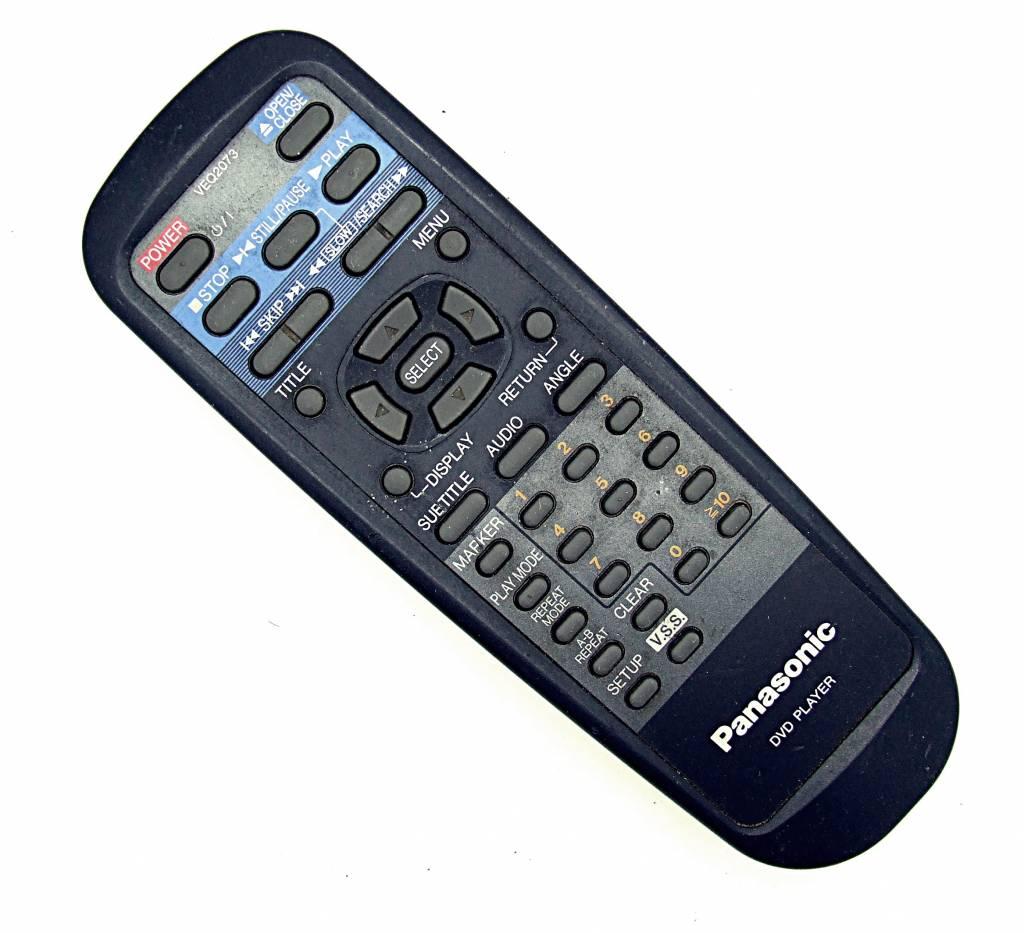 Panasonic Original Panasonic Fernbedienung VEQ2073 DVD Player remote control