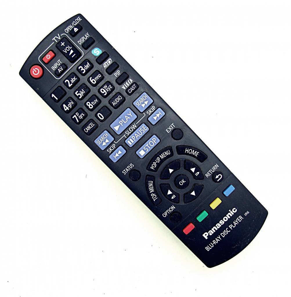 Panasonic Original Panasonic Fernbedienung N2QAYB000576 Blu-Ray Disc Player IR6 remote control