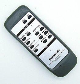 Panasonic Original Panasonic EUR648258 remote control