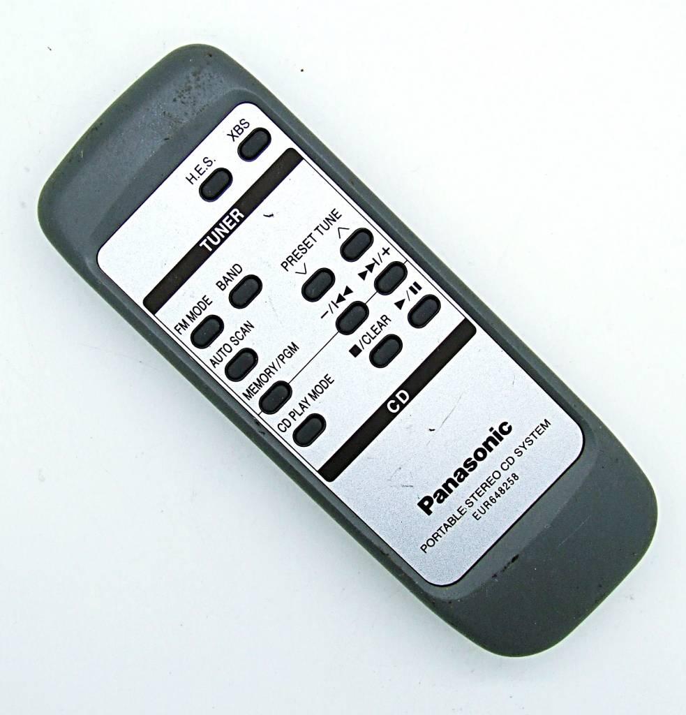 Panasonic Original Panasonic Fernbedienung EUR648258 remote control