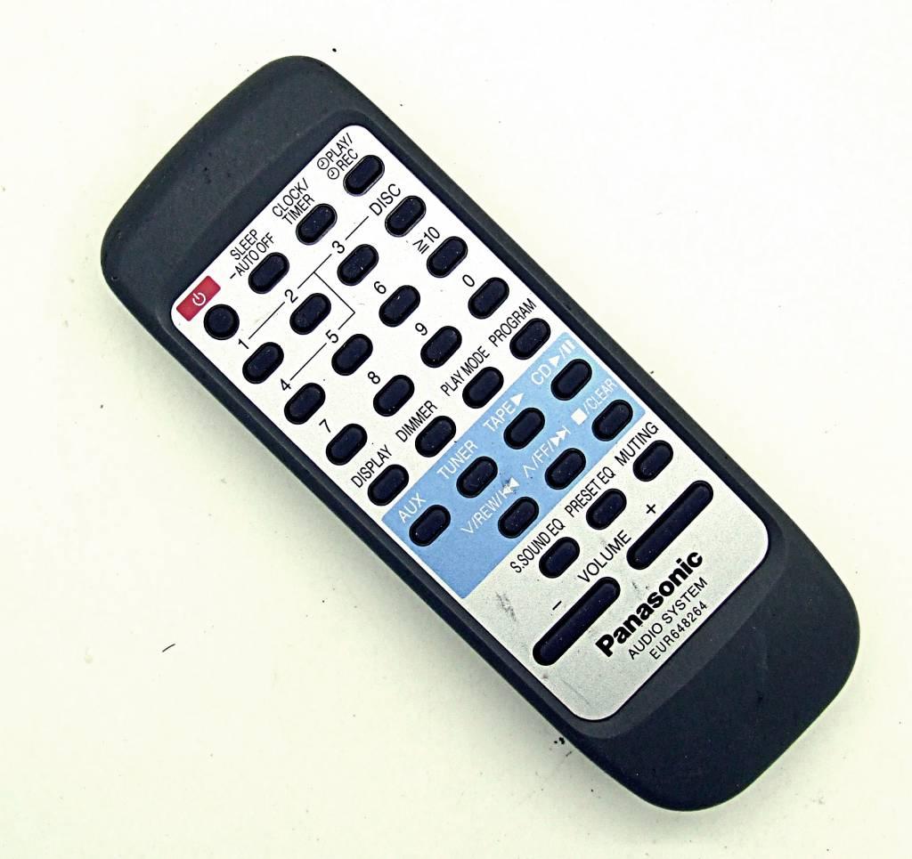 Panasonic Original Panasonic Audio System Fernbedienung EUR648264 remote control
