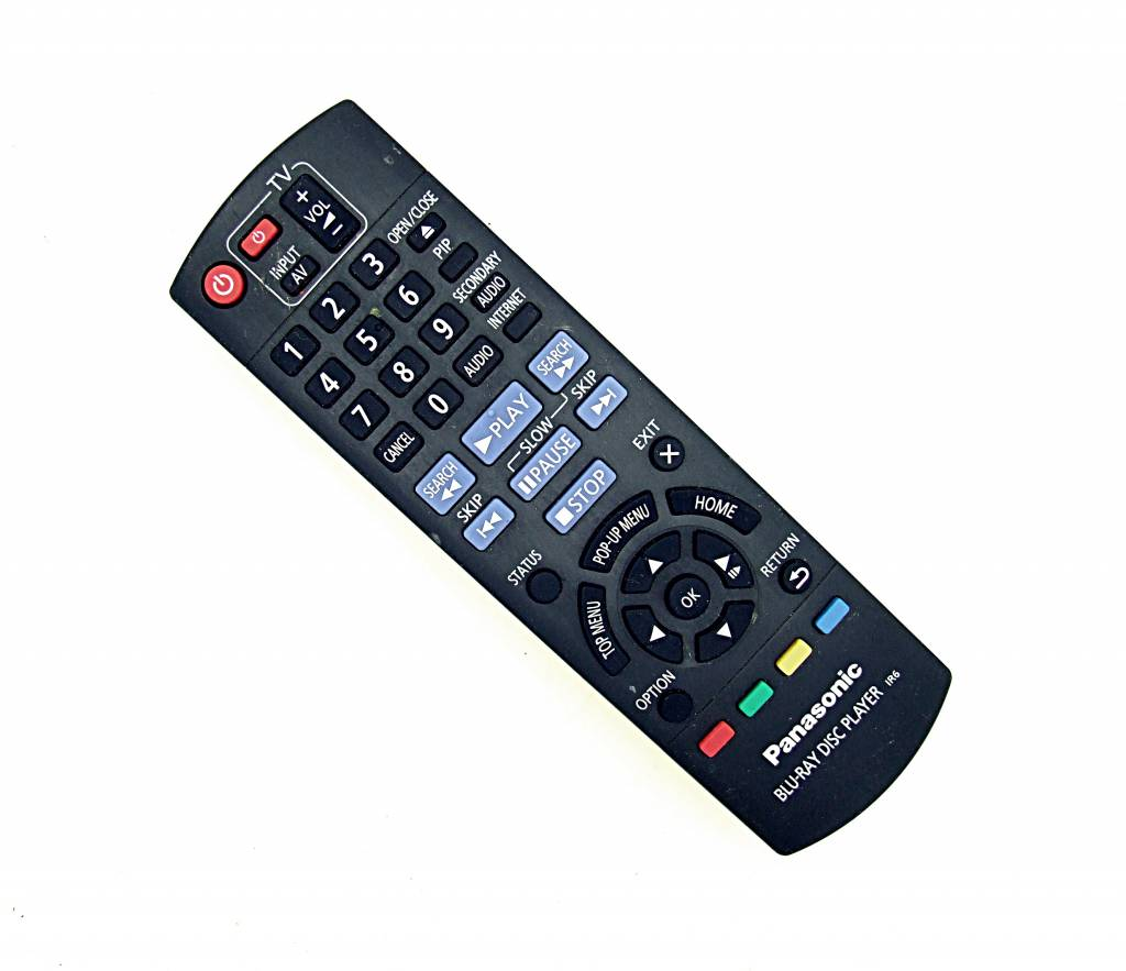 Panasonic Original Panasonic N2QAYB000869 Blu-Ray Disc Player remote control