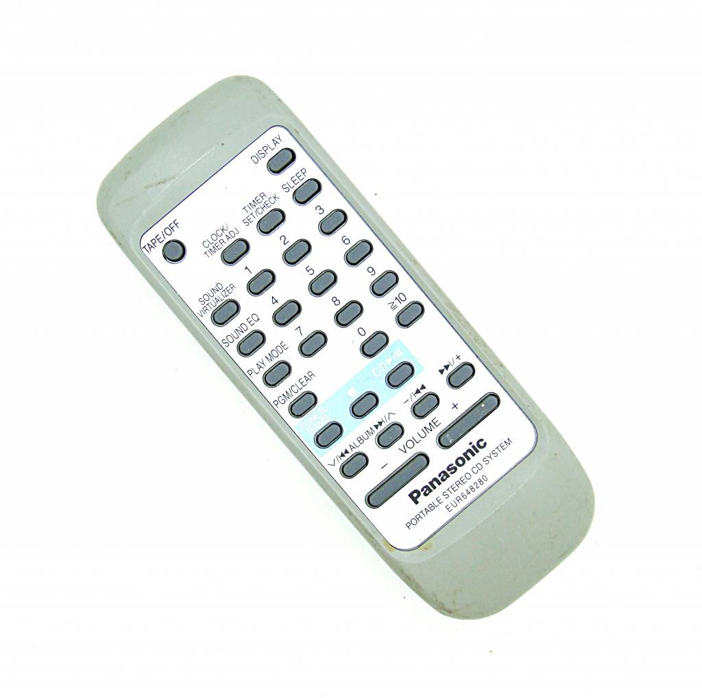 Panasonic Original Panasonic Fernbedienung EUR648280 Stereo CD System remote control