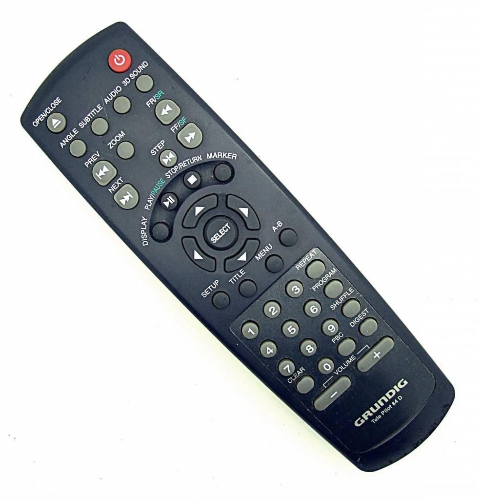 Grundig Original Grundig Fernbedienung TP84D DVD remote control