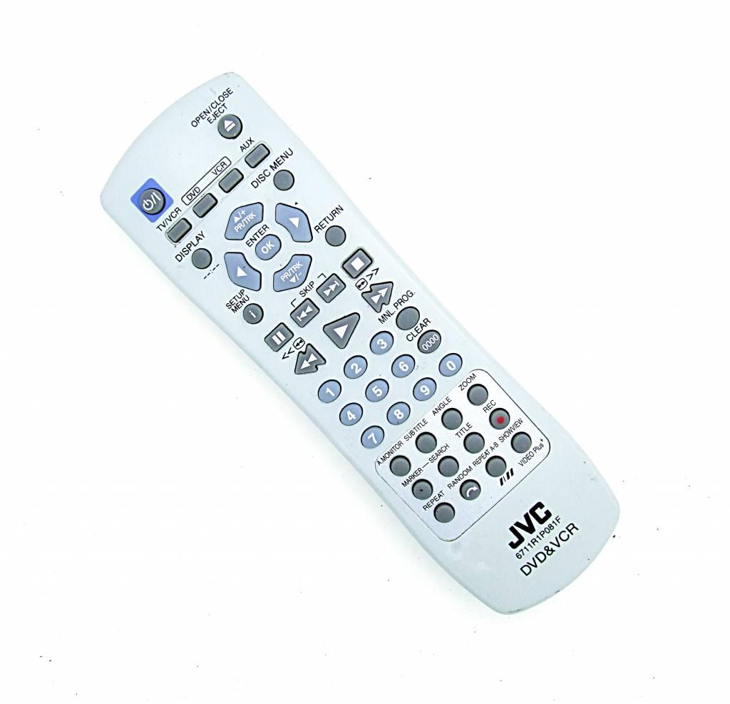 JVC Original JVC Fernbedienung 6711R1P081F remote control