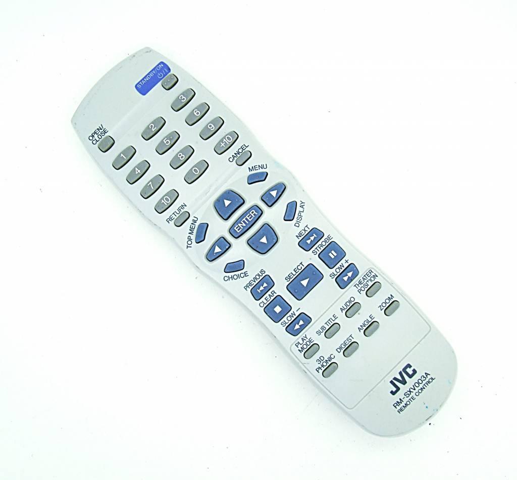 JVC Original JVC Fernbedienung RM-SXV003A DVD remote control