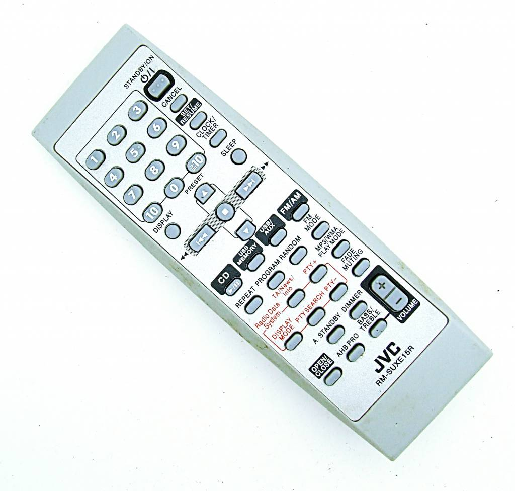 JVC Original JVC RM-SUXE15R remote control