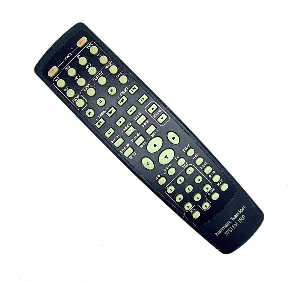 Harman/Kardon Original harman/kardon Fernbedienung System 1500 remote control