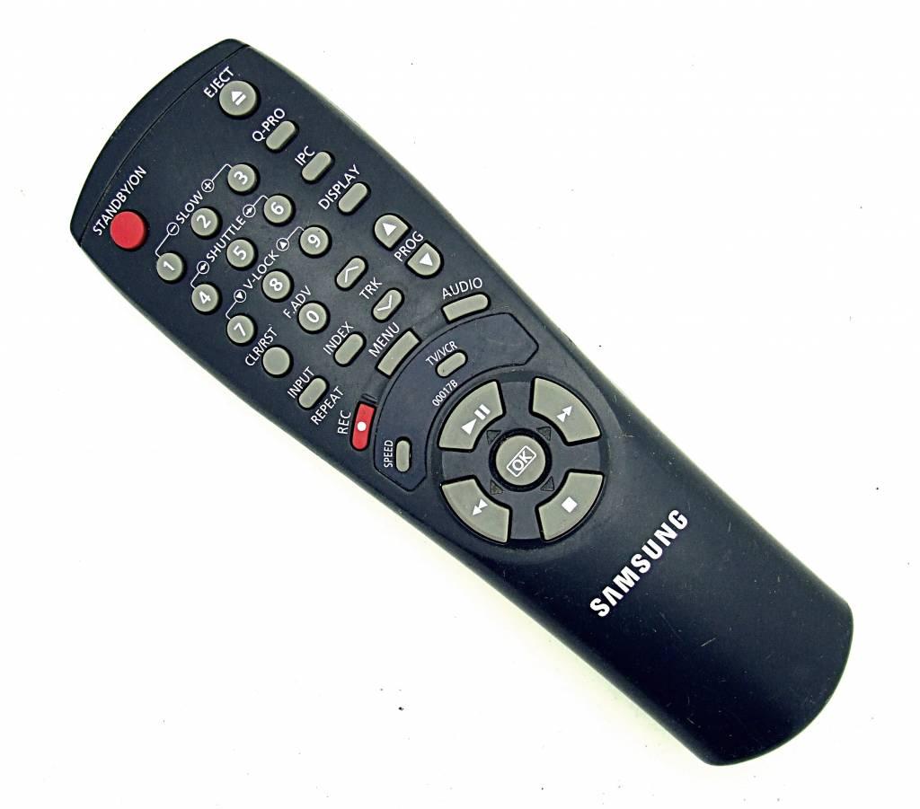 Samsung Original Samsung Fernbedienung 00017B TV/VCR remote control