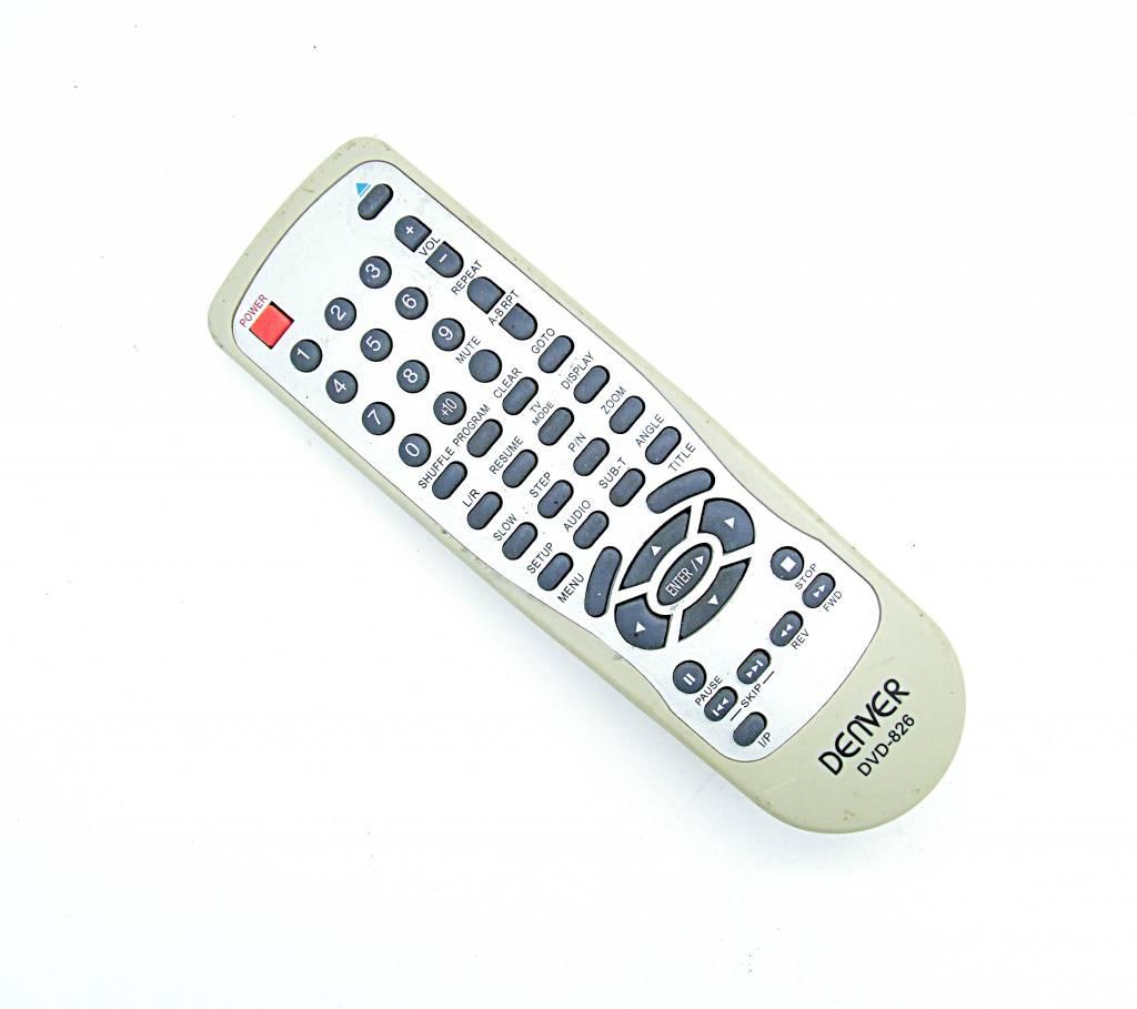 Denver Original Denver DVD-826 remote control