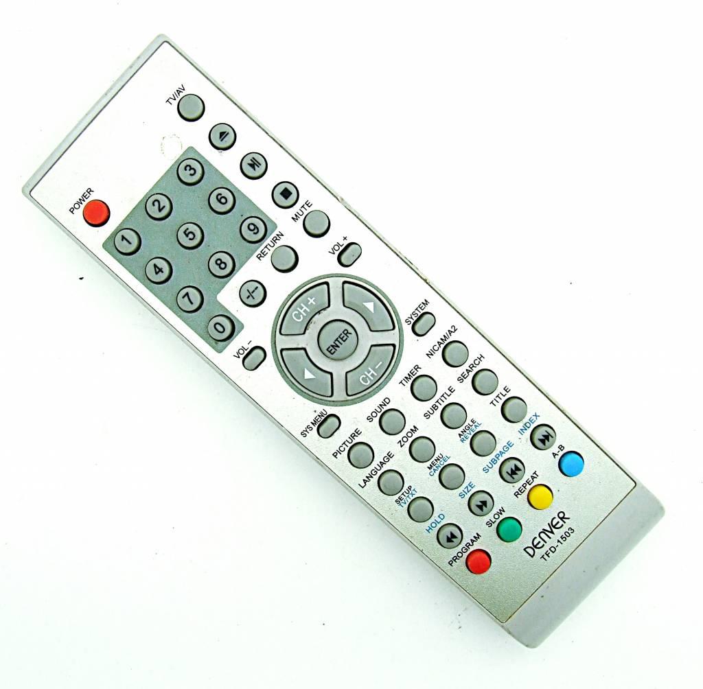 Denver Original Tfd 1503 Tv Av Remote Control