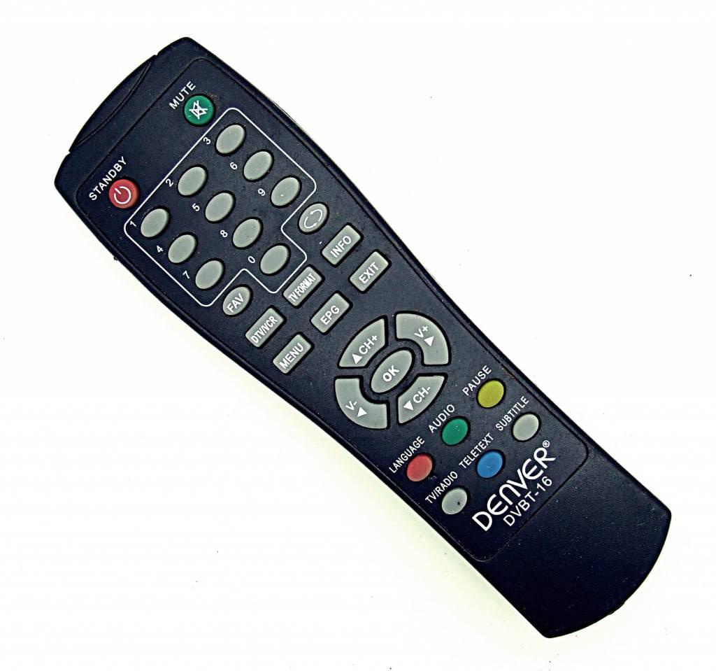 Denver Original Denver Fernbedienung DVBT-16 DTV/VCR remote control