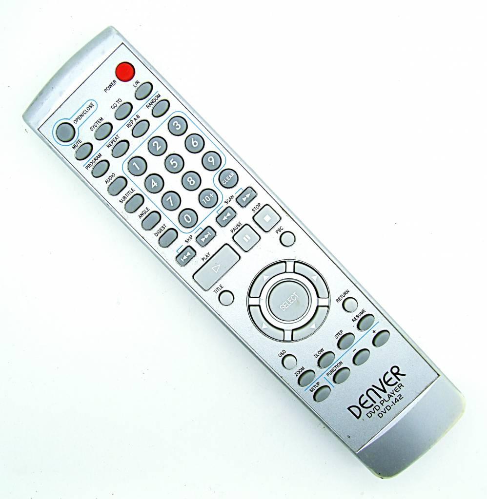 Denver Original Denver DVD-142 DVD Player remote control