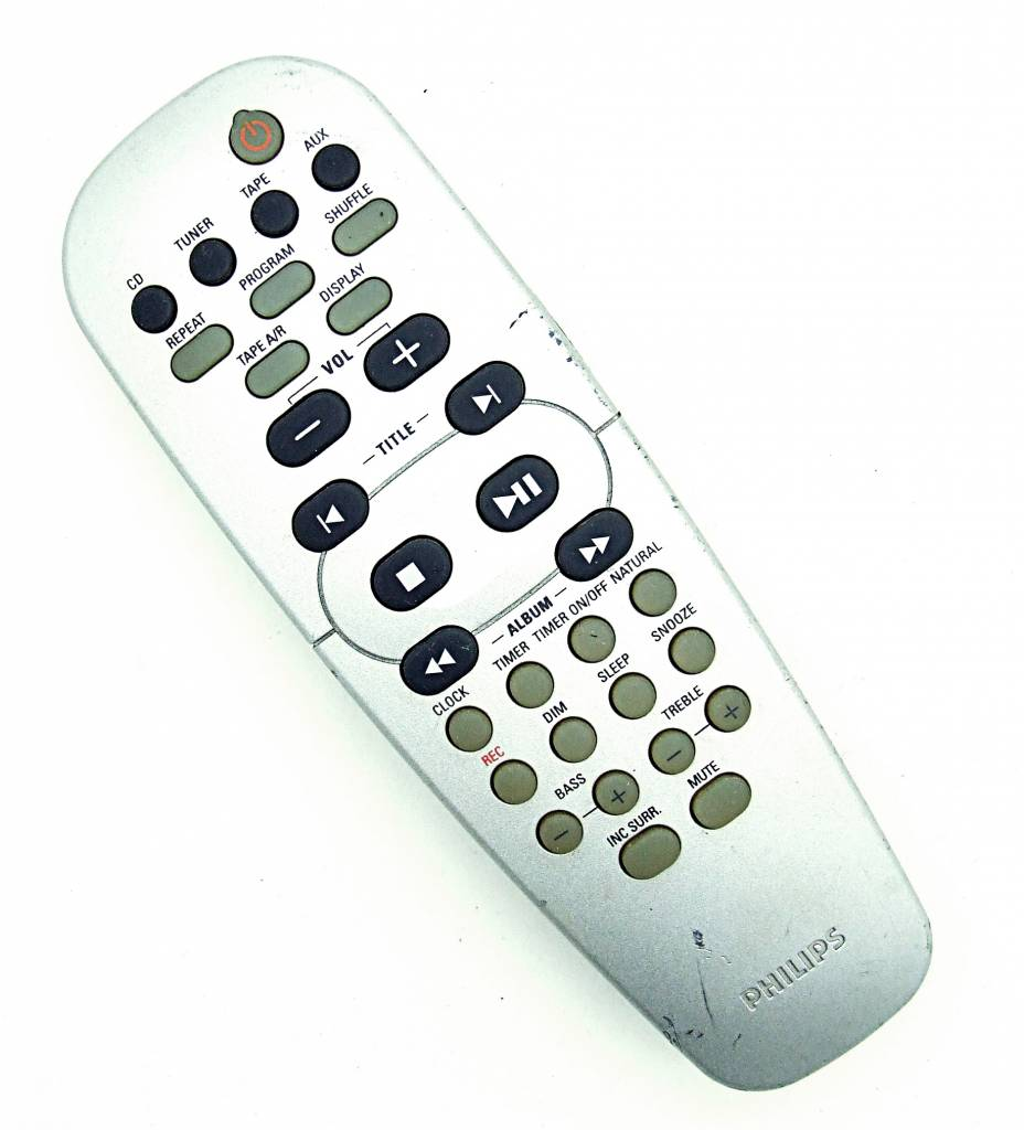 Philips Original Philips Fernbedienung RC19532011/01 CD-Player remote control