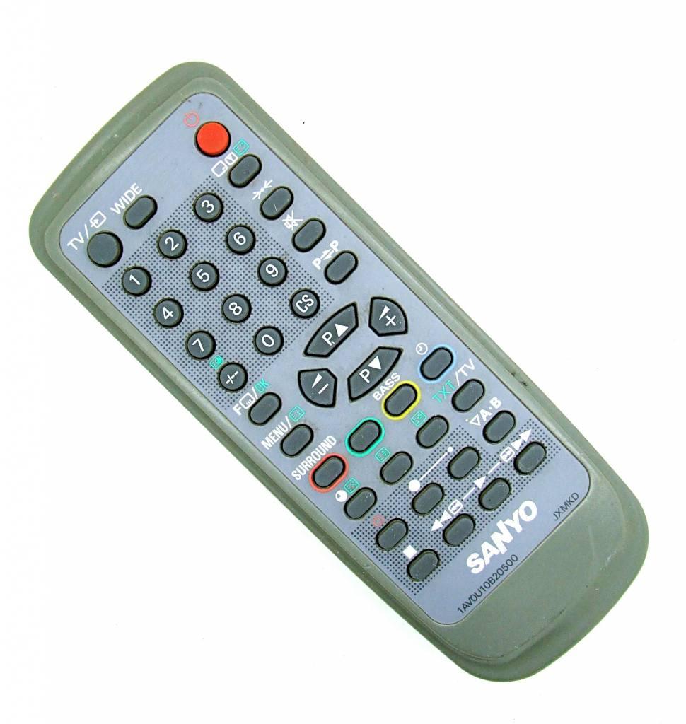 Sanyo Original Sanyo Fernbedienung 1AV0U10B20500 JXMKD TV remote control
