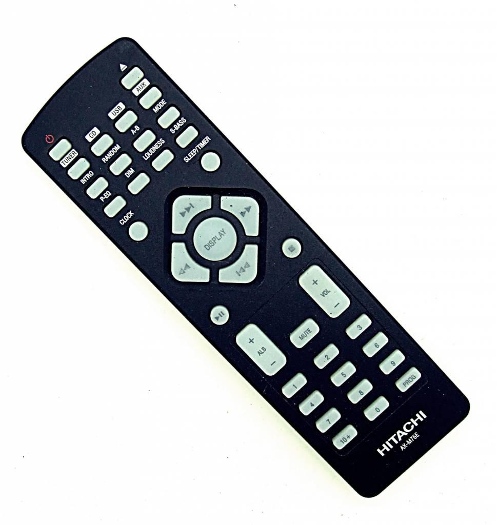 Hitachi Original Hitachi Fernbedienung AX-M76E Audio System remote control