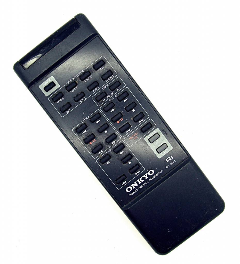 Onkyo Original Onkyo Fernbedienung RC-207S Audio System remote control