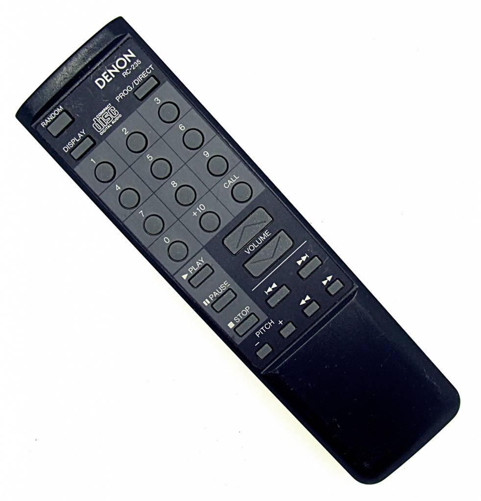 Denon Original Denon RC-235 HiFi Audio System remote control