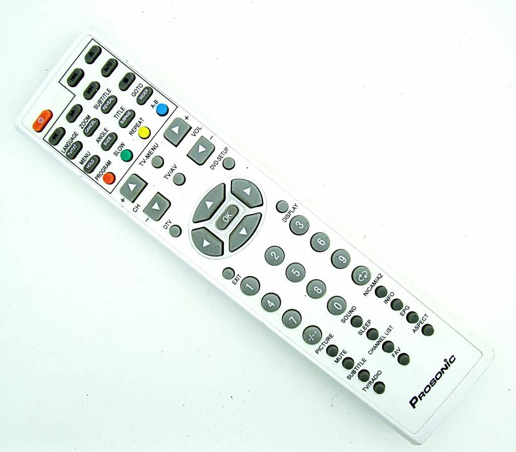 Prosonic Original Prosonic Fernbedienung PBT-2248 TV/Radio/DVD remote control