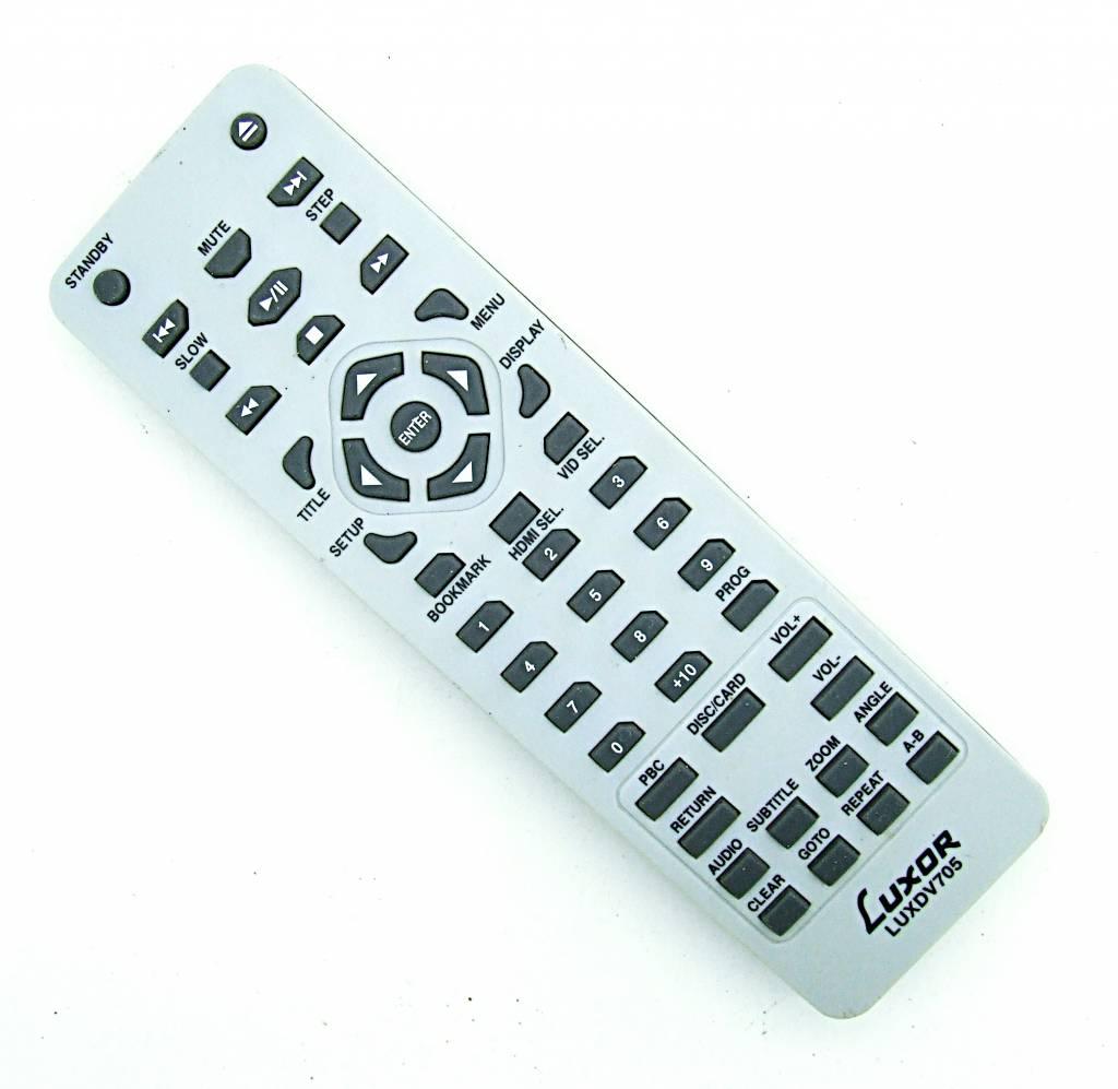 Original Luxor Fernbedienung LUXDV705 remote control
