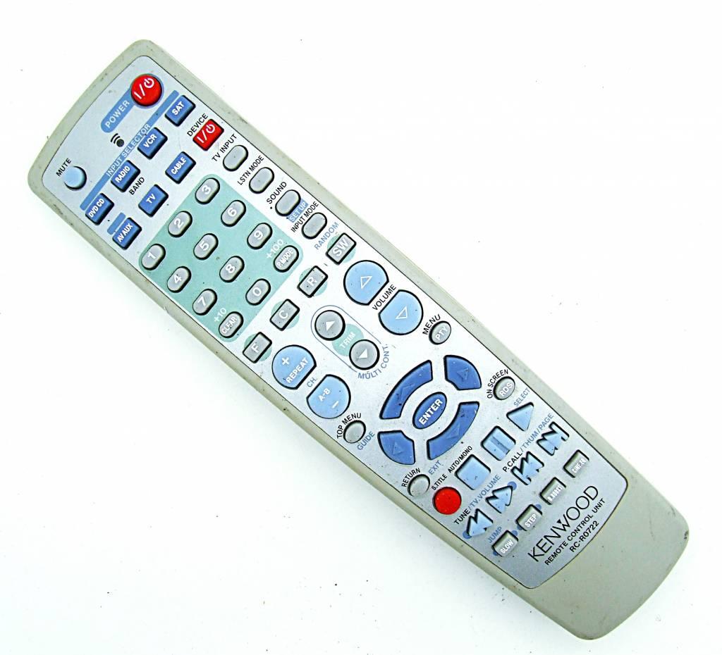 Kenwood Original Kenwood Fernbedienung RC-R0722 DVD,CD,VCR,TV,SAT remote control