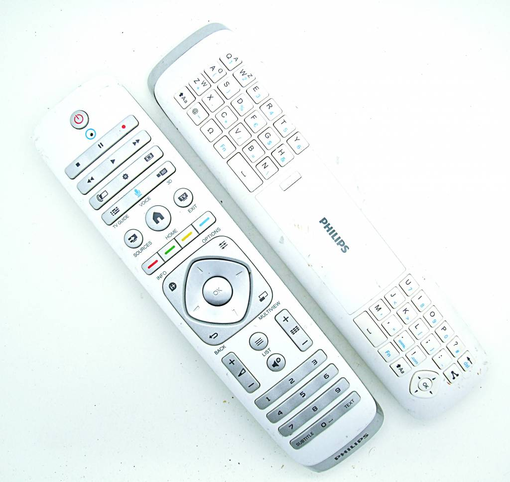 Philips Original Philips Fernbedienung YKF355-005, 996590021453 mit Tastatur remote control