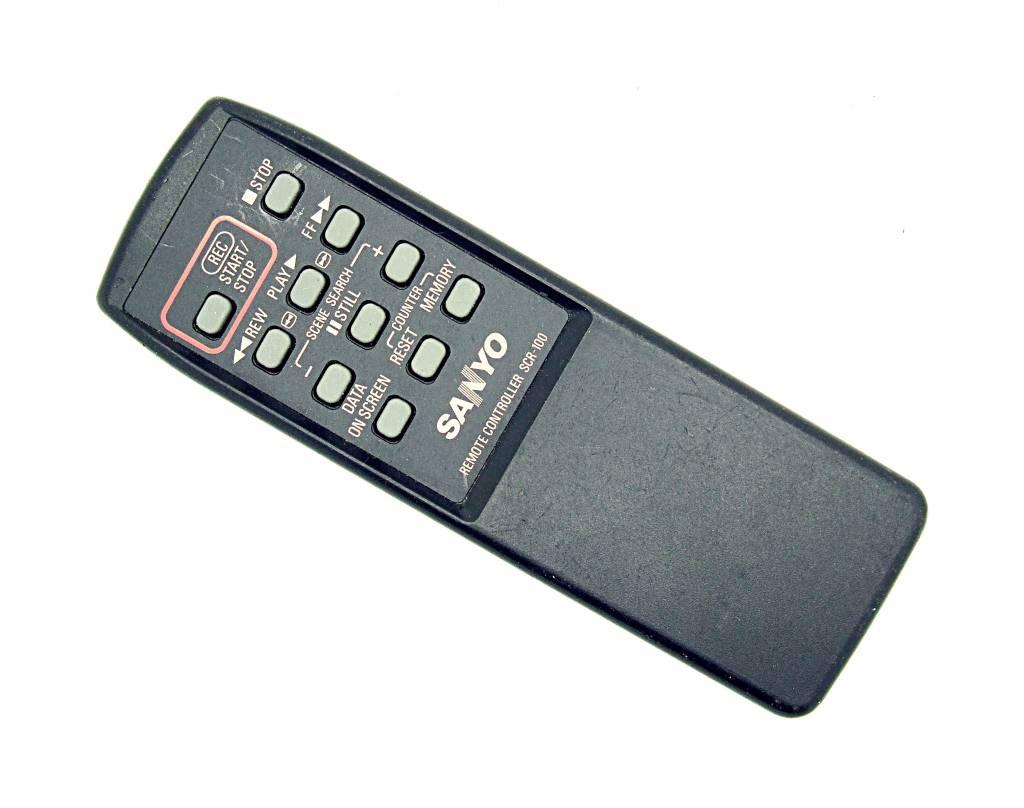 Sanyo Original Sanyo Fernbedienung SCR-100 remote control
