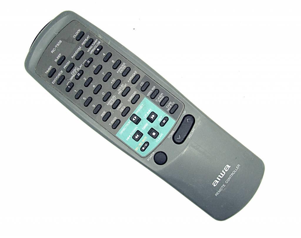 Aiwa Original Aiwa Fernbedienung RC-T506 remote control