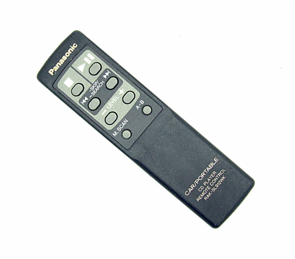 Pioneer Original Panasonic Fernbedienung RAK-SL912WK Car/Portable CD Player remote control