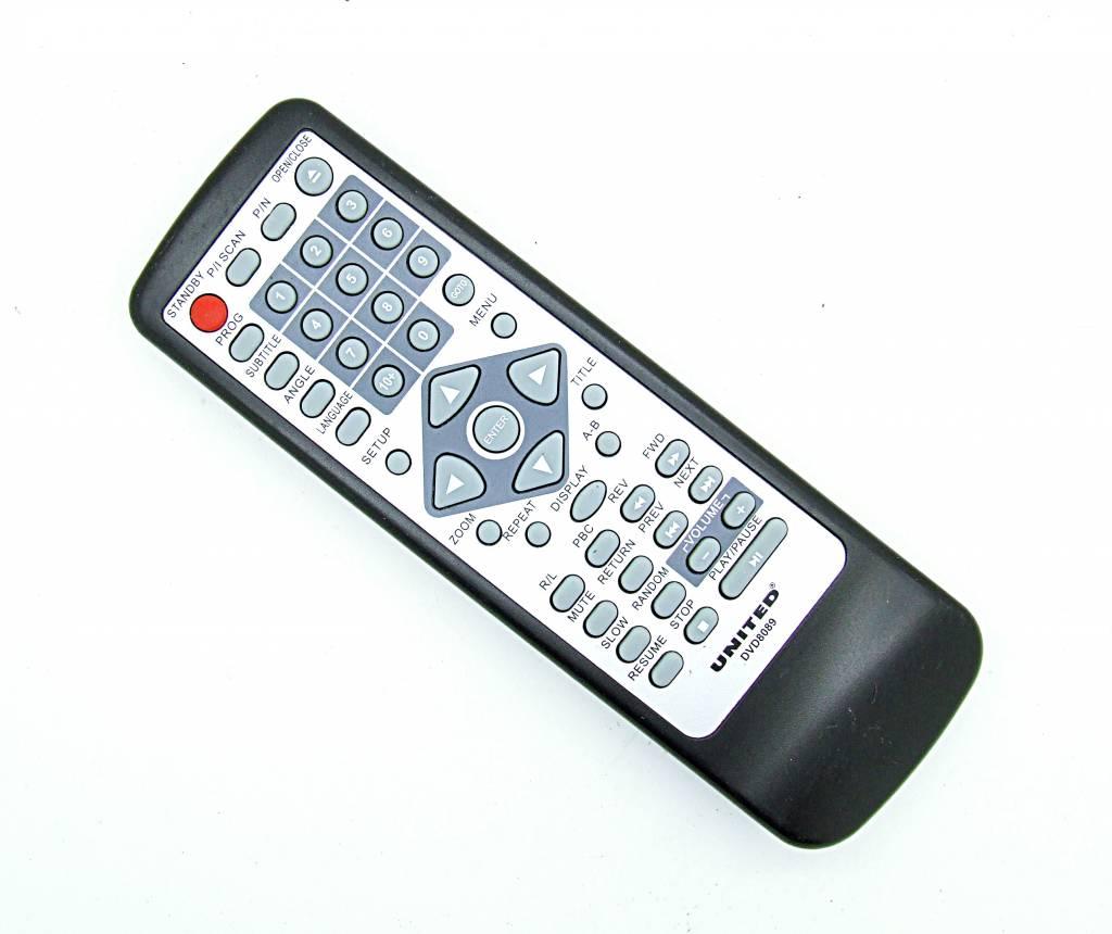 Original United Fernbedienung DVD8089 remote control