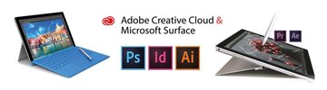 Adobe Creative Cloud & Microsoft Surface