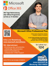 Microsoft Office 365 Professional Plus für Studium