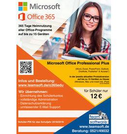 Microsoft Office 365 Professional Plus für Studium (Lehrer, Schüler und Studenten)