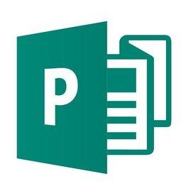 Microsoft Publisher 2019 für Gemeinnutz