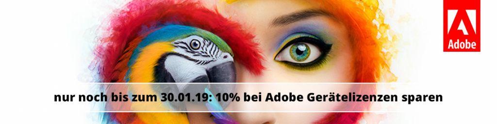 Adobe Gerätelizenzen Preiserhöhung