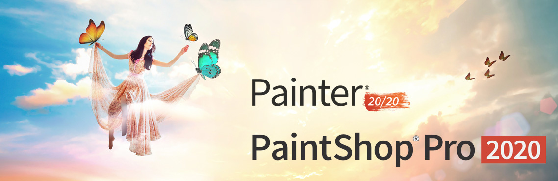 Corel PaintShop Pro & Painter 2020