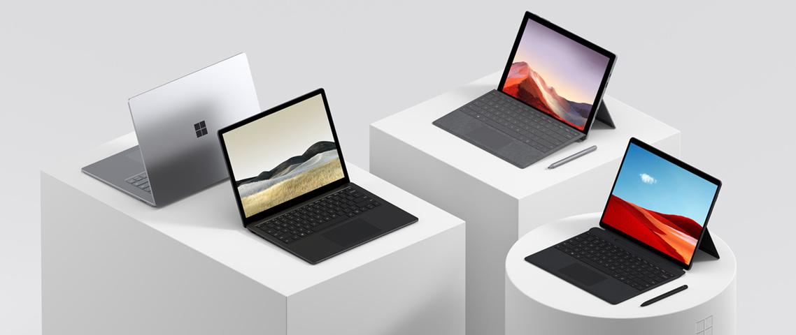 Microsoft Surface Familie