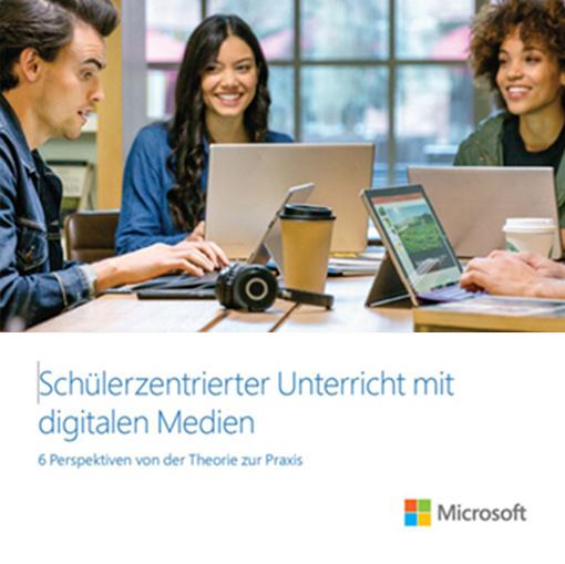 Schülerzentrierter Unterricht mit digitalen Medien Prospekt