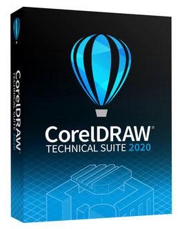 Corel CorelDRAW Technical Suite 2020 für Gewerbe und Privat