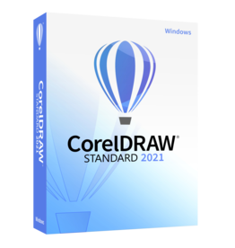 Corel CorelDRAW Standard 2021 für Gemeinnutz, Behörden, Gewerbe und Privat