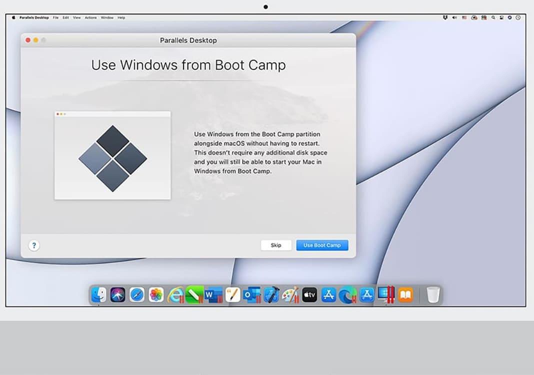 Parallels Desktop 17: Kompatibel mit Boot Camp