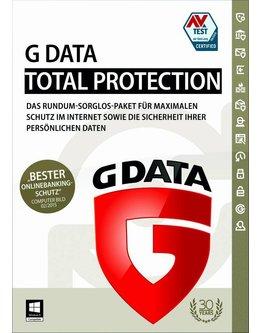 G Data Total Protection für alle Einsatzbereiche