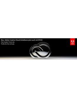 Adobe Creative Cloud K12 für Schulen - Gerätelizenzen
