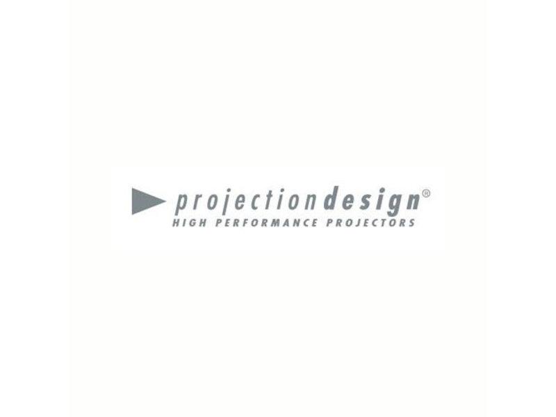 PROJECTIONDESIGN R9801267 / 400-0003-00 Originele lamp met behuizing