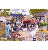 Gibsons G2200 Puzzel Young Farmers 100 st.