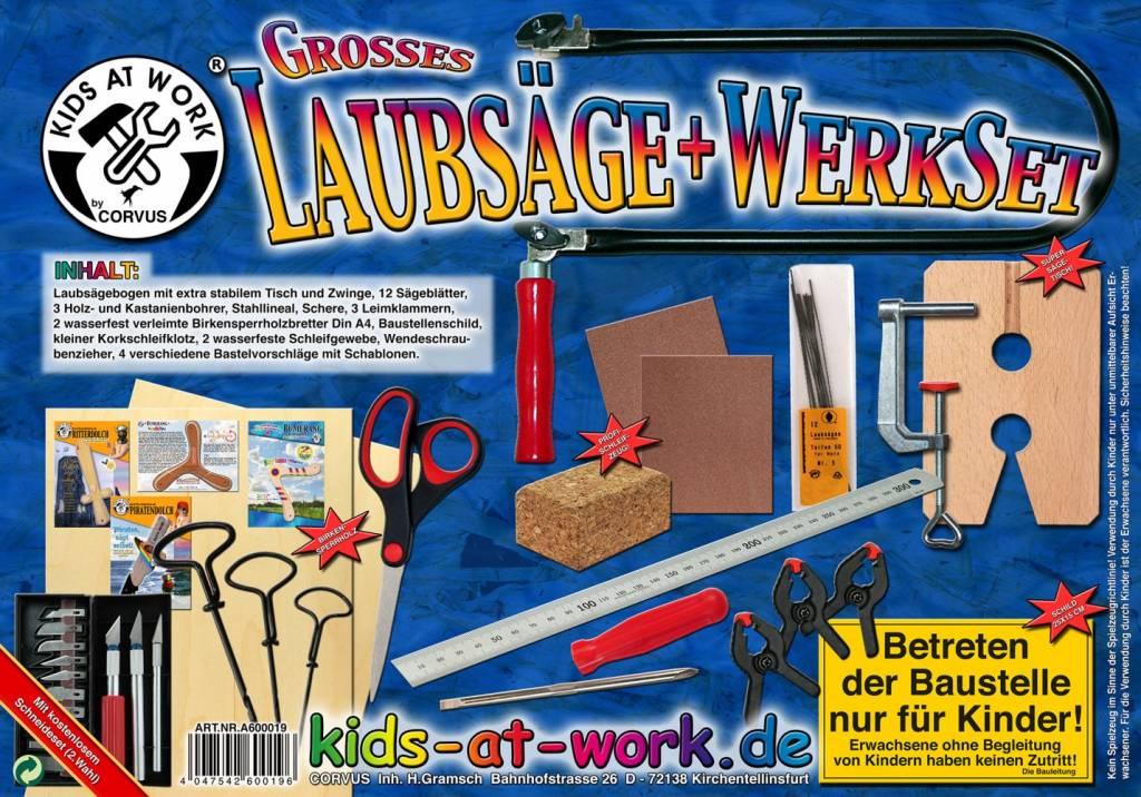 Kids at work Figuurzaag set