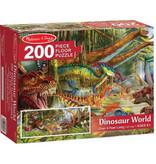 Melissa & Doug Melissa & Doug 18908, Vloerpuzzel dinosaurus
