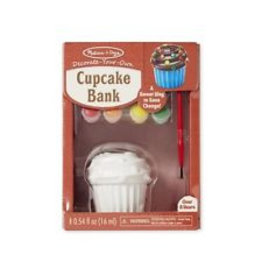 Melissa & Doug 18864, Cupcake spaarpot versieren
