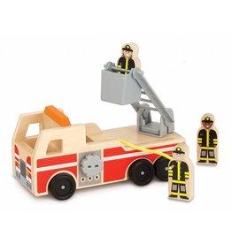 Melissa & Doug Melissa & Doug 19391, Houten brandweerwagen